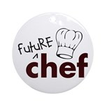 Future Chef Ornament (Round)