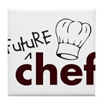 Future Chef Tile Coaster