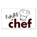 Future Chef Rectangle Sticker