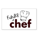 Future Chef Rectangle Sticker 10 pk)