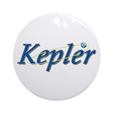 Kepler Mission Ornament (Round)