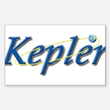 Kepler Mission Rectangle Decal