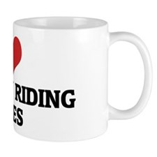I Love Ukrainian Riding Horse Mug