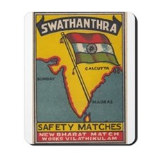 Swathanthra matchbox label Mousepad