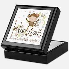 Adorable Hannah Monkey Keepsake Box