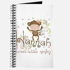 Adorable Hannah Monkey Journal