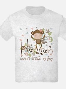 Adorable Hannah Monkey T-Shirt
