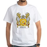 Menesses Family Crest White T-Shirt