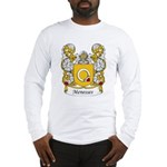 Menesses Family Crest Long Sleeve T-Shirt