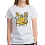 Menesses Family Crest Women's T-Shirt