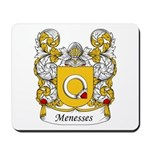 Menesses Family Crest Mousepad