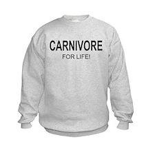 Carnivore For Life Sweatshirt