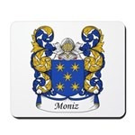 Moniz Family Crest Mousepad