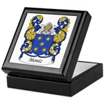 Moniz Family Crest Keepsake Box