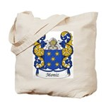 Moniz Family Crest Tote Bag