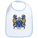 Moniz Family Crest Bib