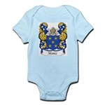 Moniz Family Crest Infant Creeper