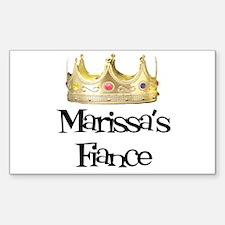 Marissa's Fiance Rectangle Decal