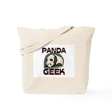 Panda Geek Tote Bag