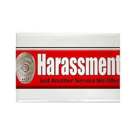Harassment Rectangle Magnet (10 pack)