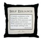 Hobgoblin Quote (cream) Throw Pillow