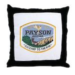 Payson Arizona Throw Pillow