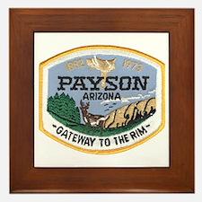 Payson Arizona Framed Tile