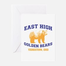 East High Golden Bears Greeting Cards (Pk of 10)