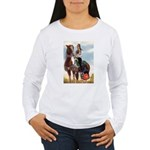Mounted Shriner Women's Long Sleeve T-Shirt
