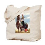Mounted Shriner Tote Bag