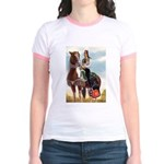 Mounted Shriner Jr. Ringer T-Shirt