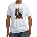 Mounted Shriner Fitted T-Shirt