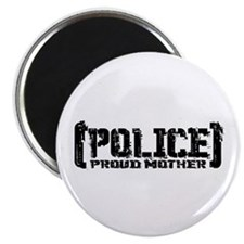 Police Proud Mother Magnet