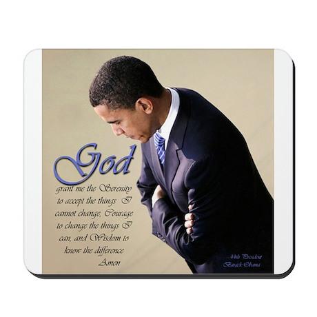 Obama Praying Mousepad
