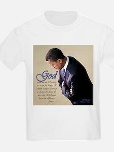 Obama Praying T-Shirt