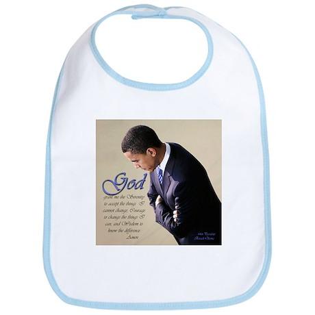 Obama Praying Bib