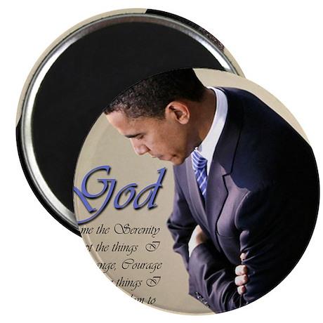 """Obama Praying 2.25"""" Magnet (10 pack)"""