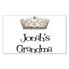 Jonah's Grandma Rectangle Decal