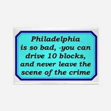 """Gotta Love Philly"" Rectangle Magnet"