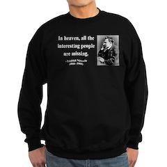 Nietzsche 8 Sweatshirt (dark)