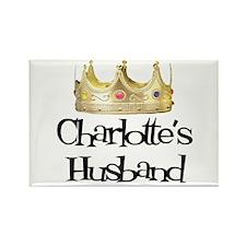 Charlotte's Husband Rectangle Magnet