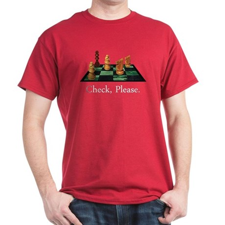 Check Please Dark T-Shirt