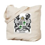 Moralis Family Crest Tote Bag