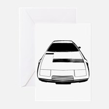 Maserati Khamsin Greeting Cards (Pk of 10)