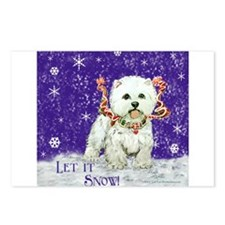 Westhighland Snow Terrier Postcards (Package of 8)