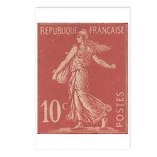 France Sower 1906 Postcards (Package of 8)