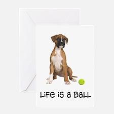 Boxer Life Greeting Card