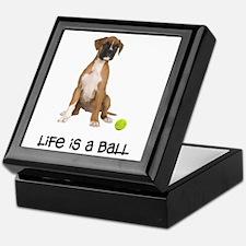 Boxer Life Keepsake Box