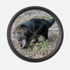 Bearcat Large Wall Clock
