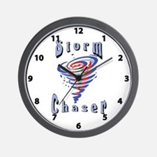 Storm Chaser 3 Wall Clock